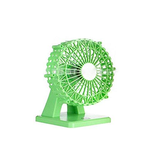 Preisvergleich Produktbild Marcus R Caveggf Fan kann aufgeladen Werden,  USB kleinen Lüfter,  Insektenschutz großen Wind,  Green