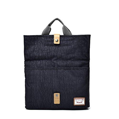 Outreo Umhängetasche Damen Handtasche Schultertasche Mode Taschen Wasserdicht Messenger Bag Leichter Kuriertasche Lässige Reisetasche für Sporttasche Schwarz