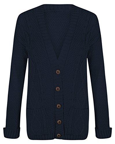 Trendy.clothing - Gilet - Femme Bleu Marine