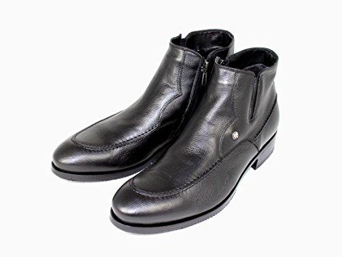 Luciano Ilari  50003, bottes chelsea homme Noir - Noir
