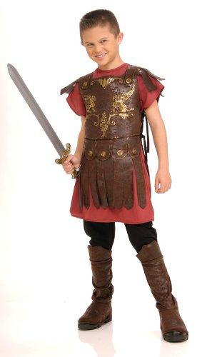 Rubie 's Offizielles Römischer Gladiator Jungen Fancy Kleid Kinder Kinder Historisches Kostüm Outfit klein (Mehrfarbig) (Alter 3–4)