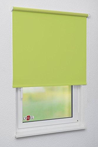 LYSEL Rollo Grande S28, (B x H) 90cm x 120cm in grün/apfelgrün