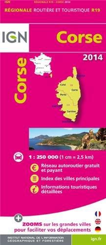 R19 CORSE 2014 1/250.000