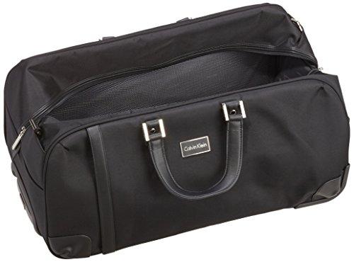 41wTbu ApJL - Calvin Klein  Bolsa de viaje, 31 cm, 73 L, Negro