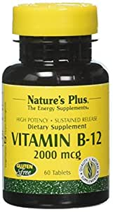 Vitamin B-12 (Cobalamin) 2000 mcg 60 comprimés S/R NP