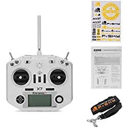 StageOnline Transmisor de RC, FrSky Taranis Q X7 Transmitter 16CH ACCST 2.4GHz RC Transmitter Compatible con Frsky Receiver para FPV Racing Drone Quadcopter