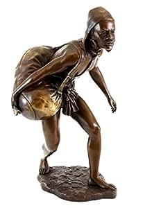 Vienne Bronze–Lutte pour la liberté d'Afrique–Esclave–Bronze Statues Sculptures–pour vente