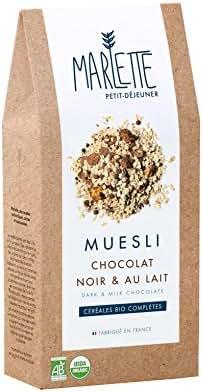 Marlette Muesli Chocolat Noir/au Lait 350 g