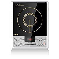Philips Daily Collection HD4929 2100-Watt Induction Cooktop (Black)