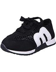 6597428fac2e Zapatillas de Deporte de Exterior Running para Unisex Bebés Niños Niñas  Otoño Invierno 2018 Moda PAOLIAN
