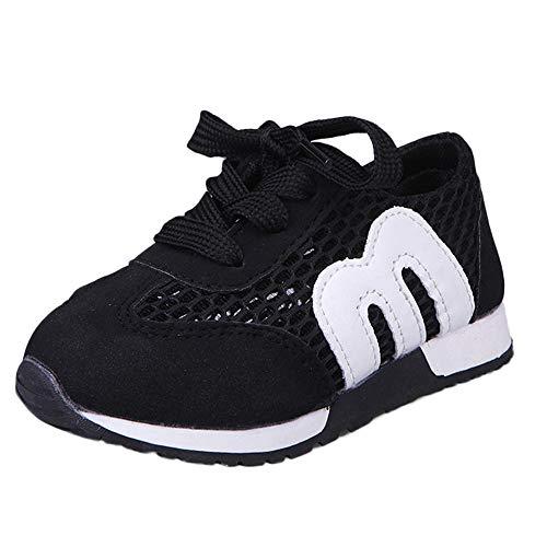 competitive price 3ab14 87a21 Chaussures Bébé Binggong Enfant en Bas âge Enfants Sport Running Bébé  Chaussures Garçons Filles Lettre Mesh
