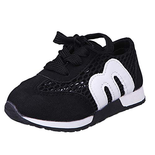 Chaussures Bébé Binggong Enfant en Bas âge Enfants Sport Running Bébé Chaussures Garçons Filles Lettre Mesh Chaussures Sneakers Mode Sneakers Chaussures à Mailles étoiles Chaussures