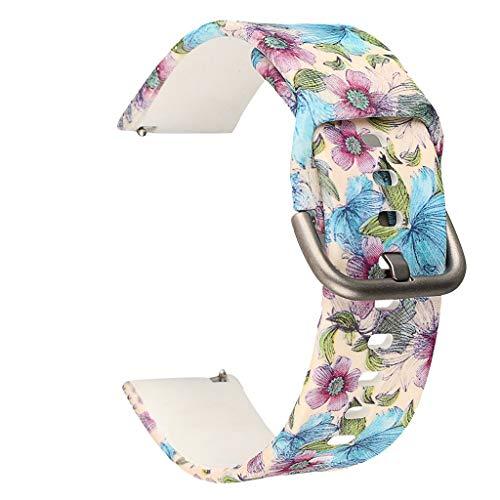 TianranRT★ Universal-Uhrenarmband - Ersatz-Silikonarmband Für Samsung Galaxy Watch 42 Mm/Active 40 Mm, Neu, Langlebig Und Schön, (A) -