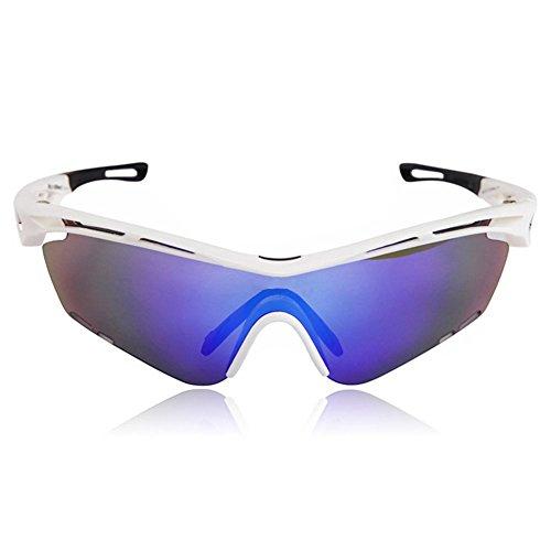 BicRad Fahrradbrille Polarisiert Sport Brille (3 Linsen)