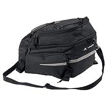 VAUDE Unisex_Adult Silkroad Plus (Snap-it) Pannier Carrier Bags, Black, standard size