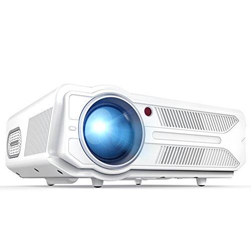"""Beamer,RD819 3200 Lumen 5,8"""" LCD Projektor,Multimedia Heimkino Video Beamer,unterstützt 1080P,HDMI,USB,SD Speicherkarte,VGA,AV für Heimkino,Fernseher,Laptops,Spiele,iPhone & Android Smartphone"""