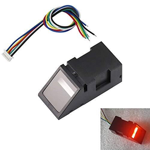Dc-sensor (Aihasd Rotlicht Optischer Fingerabdruckleser Sensor modul für Arduino Mega2560 UNO R3 51 AVR STM32 DC3.8-7V)
