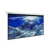 شاشة عرض SNOWMOKEE 150-inch (1990 بوصة، سقف كهربائي للسيارات مع محرك إسقاط، شاشة عرض عالية الوضوح، 305 × 229cms