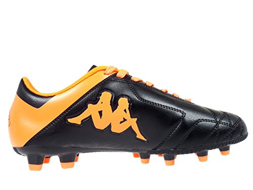 Kappa Player Fg Base, Herren Fußballschuhe BLACK-ORANGE FLUO
