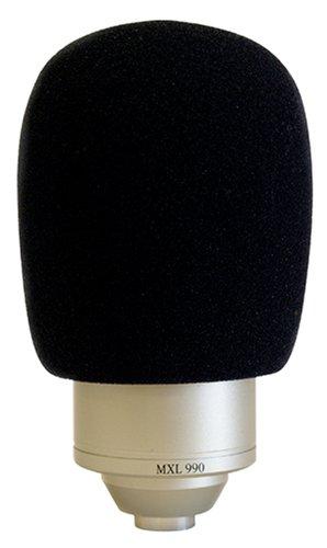 MXL WS002 - ESPUMA PROTECTORA PARA MICROFONO DE ESTUDIO GRILL 990  960  992 Y 770