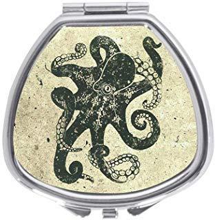 Unbekannt Custom Nautisches Steampunk Octopus Vintage Kraken Zeichnen Deko Remasuri Sector Pillendose Medizin Fall Halter Pillendose Tablet Geschenk (Vintage-tablet-fall)
