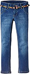 United Colors of Benetton Baby Girls Jeans (15P4CEY577O0G9010Y_Blue_0Y)