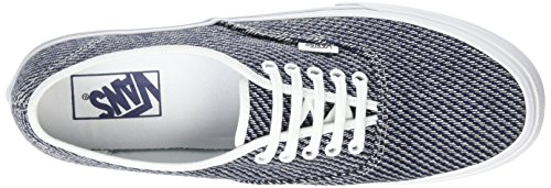 Vans Authentic Slim, Baskets Basses Mixte Adulte Bleu (Jersey navy/true white)