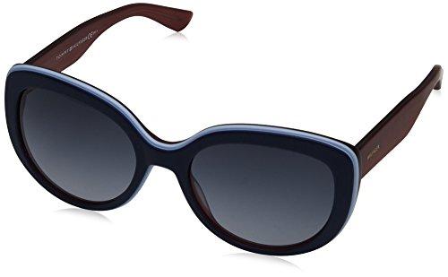 Tommy Hilfiger Unisex-Erwachsene Sonnenbrille TH 1354/S HD, Schwarz (Bluee Red Gold), 55 Preisvergleich
