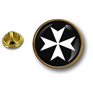 Akacha pins pin's Flag Badge Metal Lapel hat Button Knights Crusader Templar Cross r2