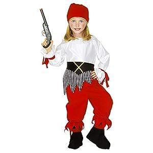 WIDMANN - Disfraz infantil de piratas, corsarios y bucaneros, multicolor, 110 cm/3 - 4 años, 43809