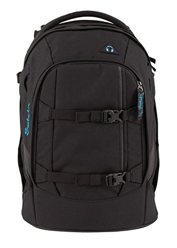 satch Pack Black Bounce 2-teiliges Set Rucksack & Triple Flex Schwarz