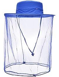 Vbiger Gorro de Pesca y Camping con Mosquitera Antimosquitos Mosquito Sombrero para Hombre y Mujer