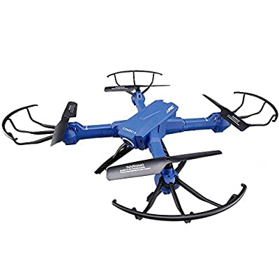 POBD RC Drone WiFi FPV VR Quadcopter with 120° Wide Angle 2MP HD Camera 2.4Ghz 4CH 6-Axis Gyro Remote Control Helicopter