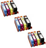 Prestige Cartridge 12 XL Cartucce d'inchiostro per HP Deskjet Officejet Photosmart | compatibile con HP 364 XL CON CHIP