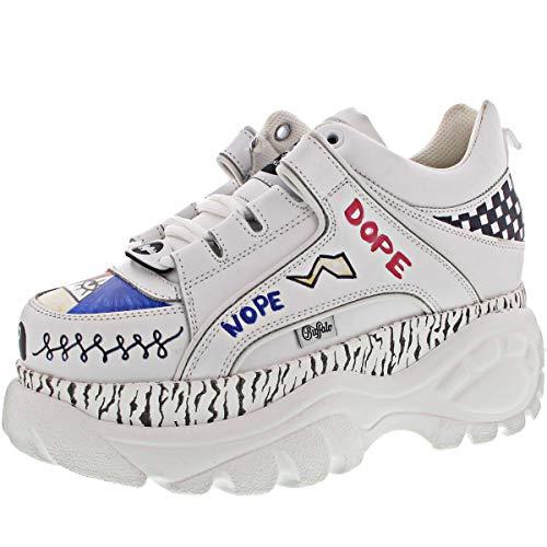 Buffalo London Damen Sneaker Low 1339-14 2.0 weiß40