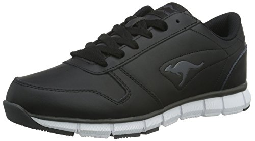KangaROOS Unisex-Erwachsene K-BlueRun 700 B Low-Top, Schwarz (Black/Dk Grey 522), 38 EU