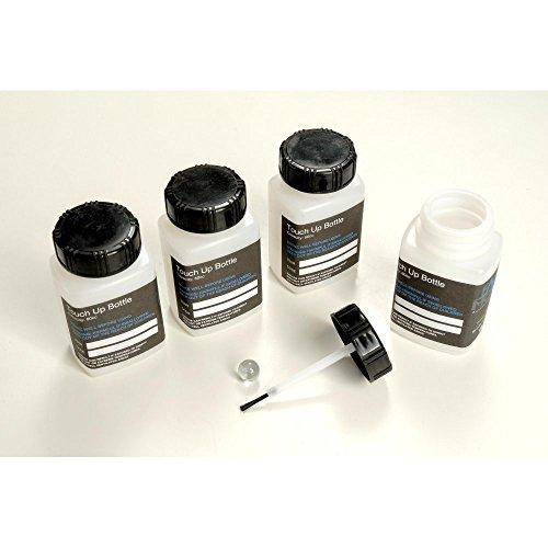 100, Kunststoff, Touch-Up-Dosen, Flaschen, leer, Bürste im Deckel, Lack, Effilierscheren FMT074001