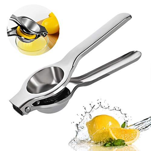Bellkey Zitronenpresse,Saftpresse Limette Zitrusfrucht Handpresse Entsafter Zitruspresse, Anti-Ätzmittel, Spülmaschinenfest,korrosiv und spülmaschinenfest