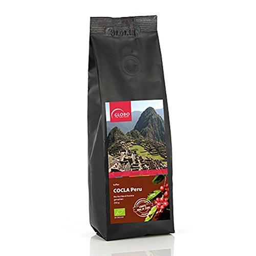 Fair Trade Kaffee - Bio - ganze Bohne - 1000g (2x 500g) - Hochland Arabica - Cocla Peru - fairtrade