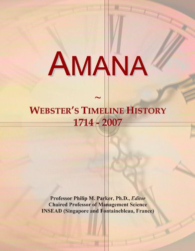 amana-websters-timeline-history-1714-2007