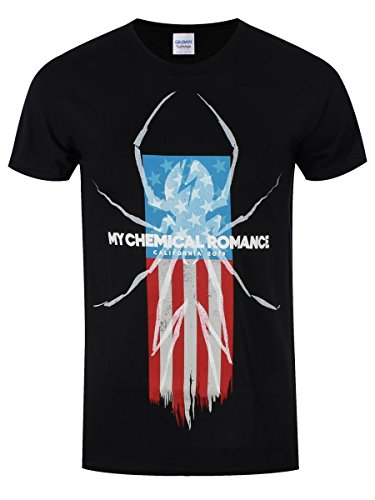 CALIFORNIA 2019 BLACK T-SHIRT-MY CHEMICAL ROMANCE