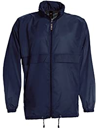ShirtInStyle Basic Windjacke Regenjacke Jacke Waserabweisend mit Kapuze viele Farben Größe S-XXXL