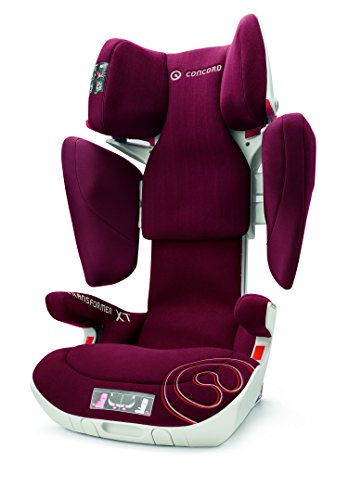Concord Transformer Xt, Silla de coche grupo 2/3 Isofix, rojo (Bordeaux Red) Concord Baby