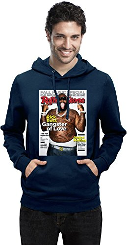 Zeus Apparel Rick Ross Rolling Stone Cover Mens Hoodie XX-Large -