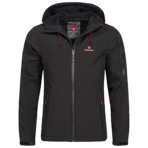 Höhenhorn Altus Mens Softshell Jacket Outdoor Function Water Resistant
