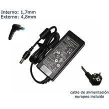 """Cargador de portátil ACER ASPIRE 5920G 6920 6930G Alimentación, adaptador, Ordenador Portatil transformador - Marca """"Laptop Power""""® (12 meses de garantía y cable de alimentación europeo incluido)"""