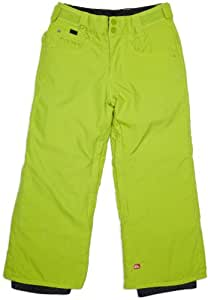 QUIKSILVER DRIZZLE YOUTH Hose 2012 dirty lime, 140