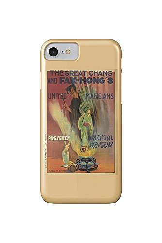 - Hong's - Oriental Review Vintage Poster Spain c. 1922 (iPhone 7 Cell Phone Case, Slim Barely There) ()