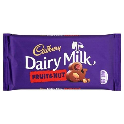 Cadbury Dairy Milk Fruit & Nut Bar 200g by Cadbury