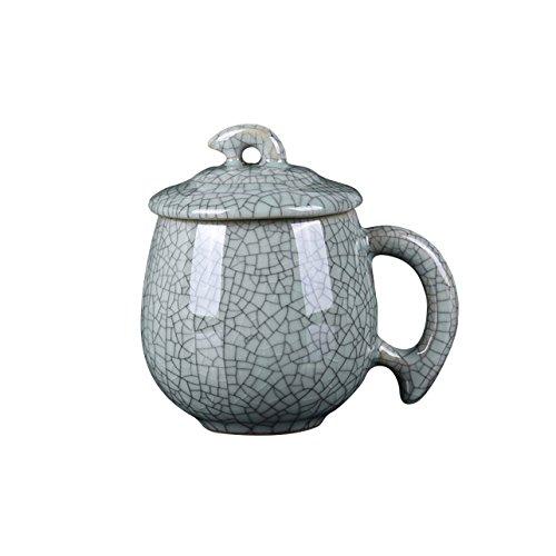 Longquan céladon Porcelaine Japonais vert céramique Tasse à thé-Type 3